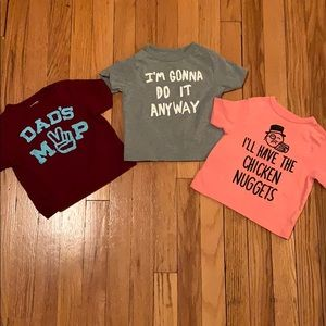 T-shirts with cute sayings lot